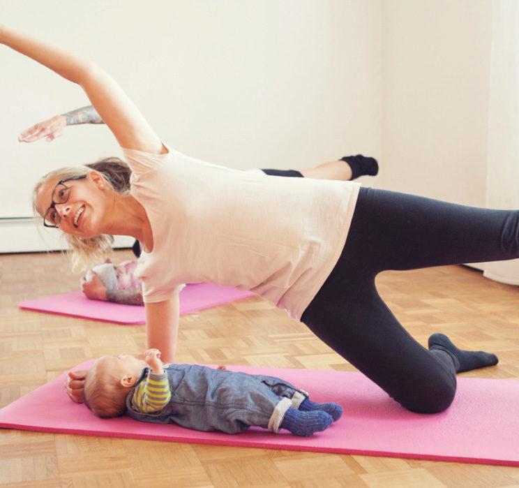 Rückbildungskurs mit Baby und ohne Baby